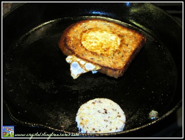 Quick and healthy breakfast, Crystal's Tiny Treasures, photo