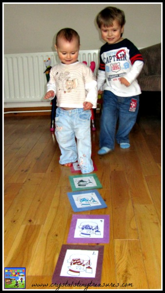 learning to count, learning colours, preschool movement, indoor fun with toddlers, photo