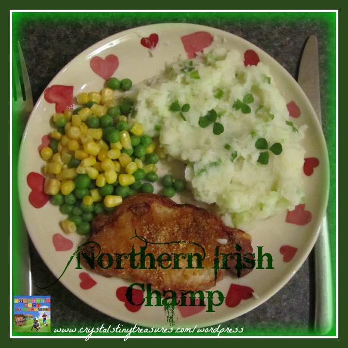 Northern Irish Champ is the perfect potato side-dish!