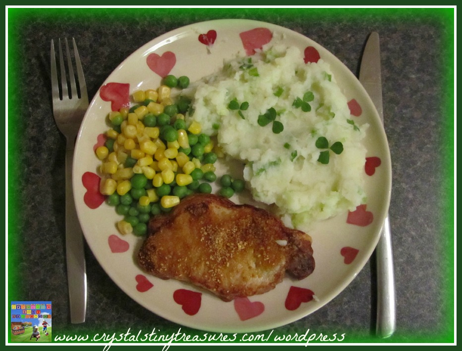 side dish, Champ, potatoes, shamrock, meal, menu, recipe, photo