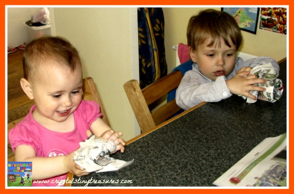 crafting fun for kids, waiting for the olympics, photo