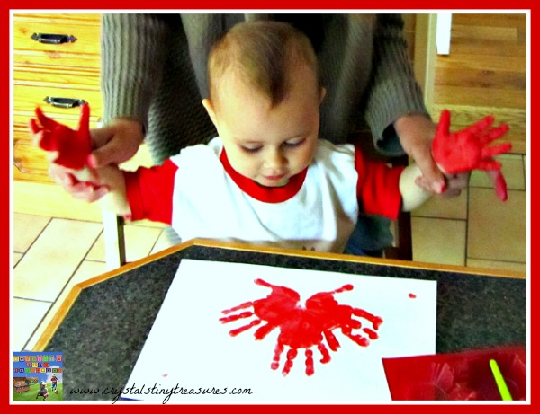 Canada Day artwork for childminders babysitters and nurseries, photo