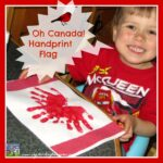 Handprint Canadian Flag Fun