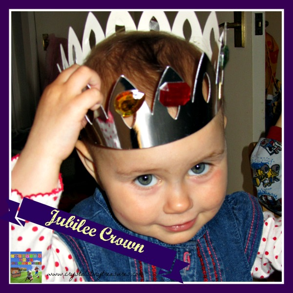Queen's Jubilee crafts, Making a crown, king and queen crowns, Crystal's Tiny Treasures, photo