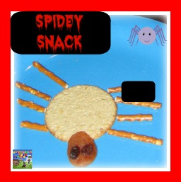 Healthy spiderman snack, fun food for kids, fun snacks, themed foods, photo