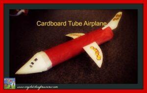 ow-to cardboard plane designing photo