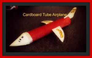 how-to cardboard plane designing photo