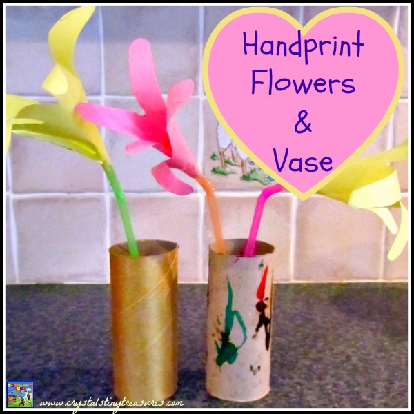 Toilet paper roll crafts crystal 39 s tiny treaures for Cardboard tube flowers