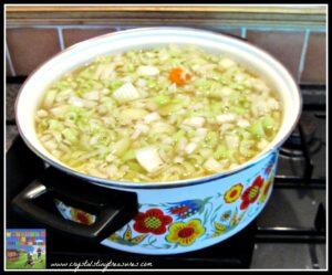 soup healthy delicious recipe lunch menu photo