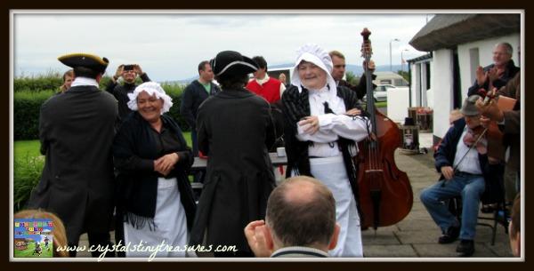 Ulster-Scots dance in Northern Ireland, Traditional Irish-Scots dancing, photo