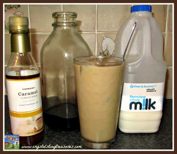 how to make flavored iced coffee at home, refreshing summer treats, how to make iced coffee, photo