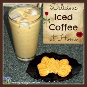 Make your own iced coffee