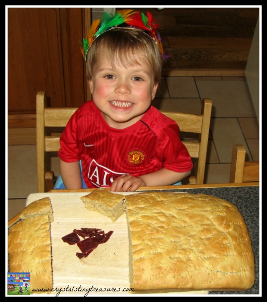 Bannock recipe, bread recipe, Canadian Native bread, children and bread making, photo