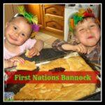 tasty bread, homemade bread, campfire bread, chidren baking bread, easy flat bread, photo