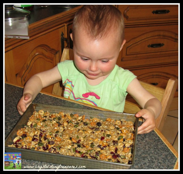 Healthy snacks for kids, baking with kids, picnic treats for kids,. photo