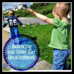Balance beam practice and inner ear development by Crystal's Tiny Treasures