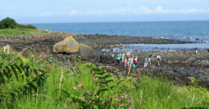 Blackhead path, Whitehead, Nature walks in Co Antrim, Children's walks in Northern Ireland, photo