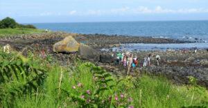 Blackhead path, Whitehead, Nature walks in Co Antrim, Children's walks in Northern Ireland, photo