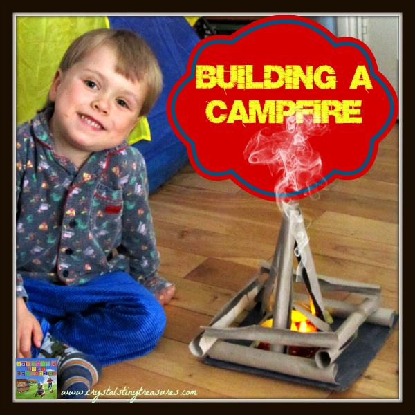 Learn to build a campfire