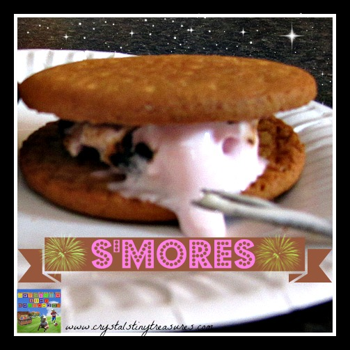 S'mores Camping Recipe