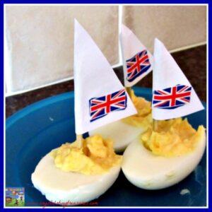 sailing, snacks, eggs, picnic menu, kids and healthy snacks, photo