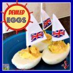 Deviled Egg Sail Boats