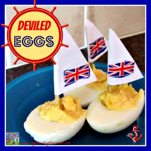 Deviled Egg Sail Boats