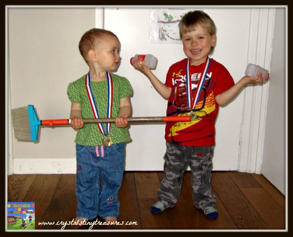 Kids and Olympic sports, indoor sports for children, 2012 Olympics, photo