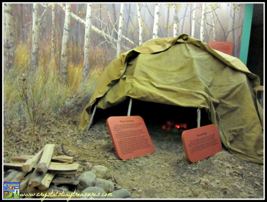 Native sweatlodge, Royal Saskatchewan Museum, Canada, Canadian history and culture, photo