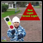 Red Light Green Light game for kids