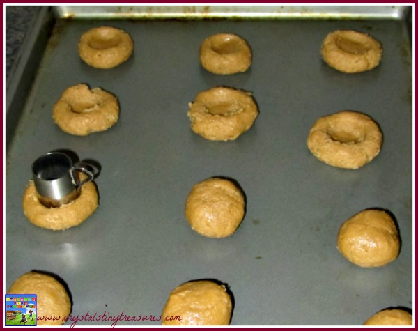 thimbles and cookies, rolled cookies, jam cookies, holiday cookies, after school cookies, photo