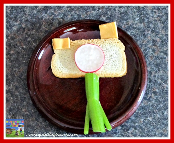 snacks for children, healthy eating, fun snack ideas, melba toast, kids in the kitchen, fun food, photo