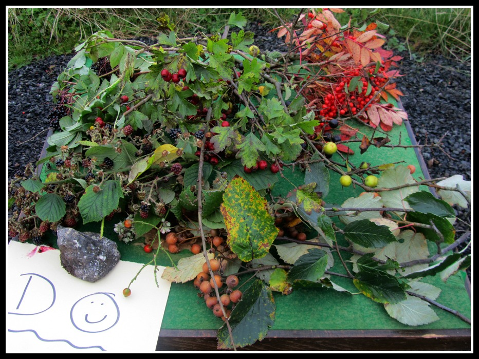 forage feast, family day out, food miles, Diamond Jubilee wood, frugal jams, photo