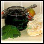foraged blackberry and apple jam, homemade Irish soda bread, photo