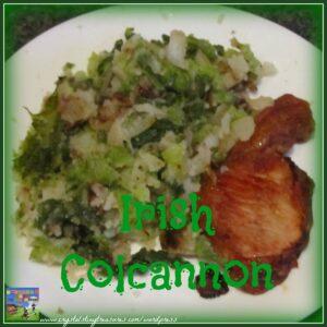 Irish colcannon for dinner