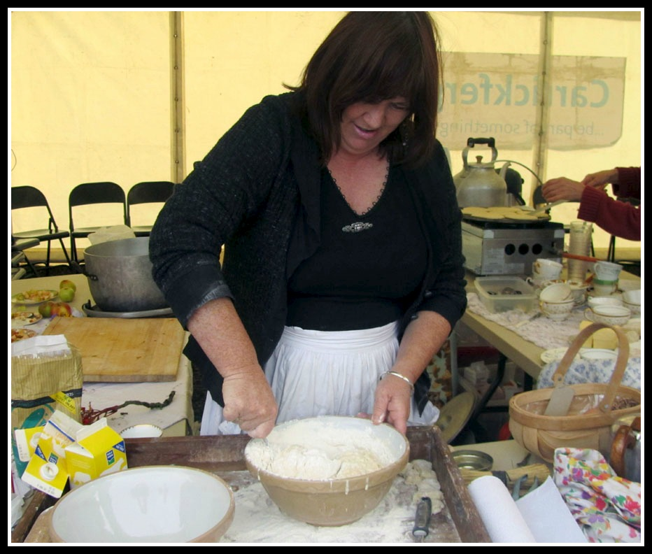 Northern Irish scone recipe, Forage, easy griddle recipes, self-sufficient living, family day out, photo