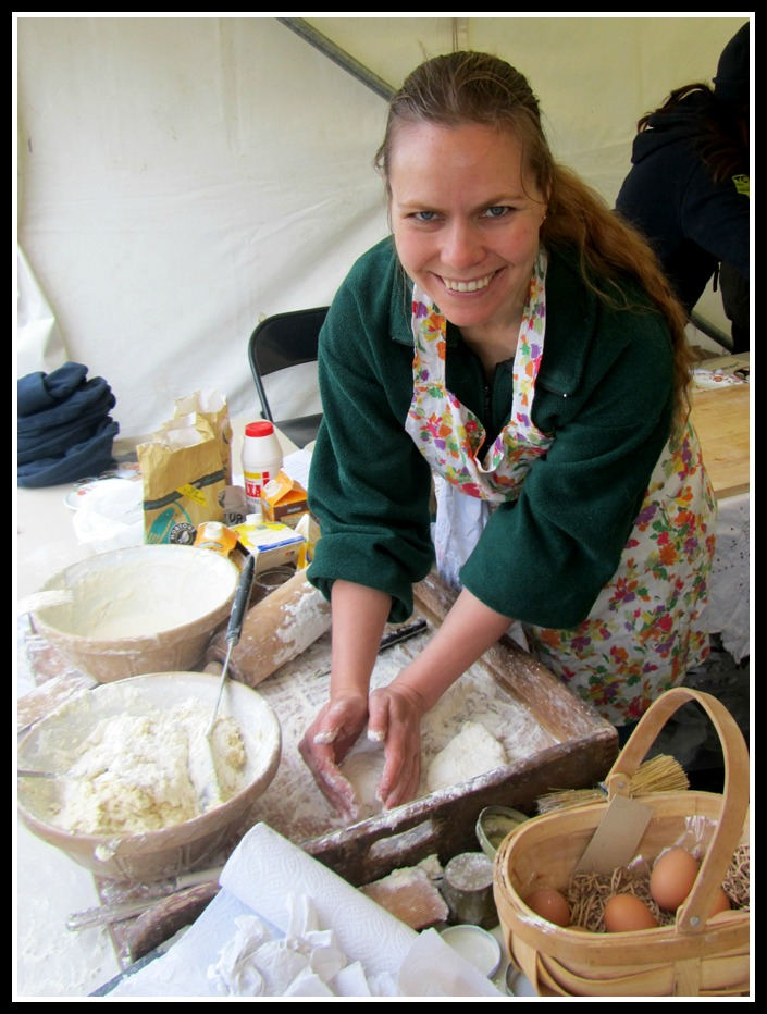 Childminding in Whitehead, Irish soda bread recipe for children, learning about local traditions, local recipes, photo