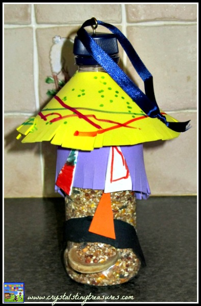 children's autumn crafts, kid's bird feeders, Childminding in Whitehead, Fun projects for birds, photo