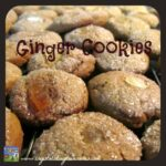 Big Soft Ginger Cookies From Mom's Kitchen