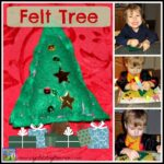 Felt Tree Sewing project for kids