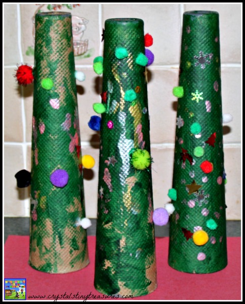 Christmas activities to keep children busy, childminding Christmas fun, photo