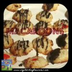 Macaroons, Christmas cookies, coconut cookies, easy drop cookies, Crystal's Tiny Treasures, photo