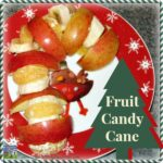 Healthy Candy Cane Snack For Kids by Crystal's Tiny Treasures