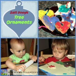 Salt Dough Tree Ornaments