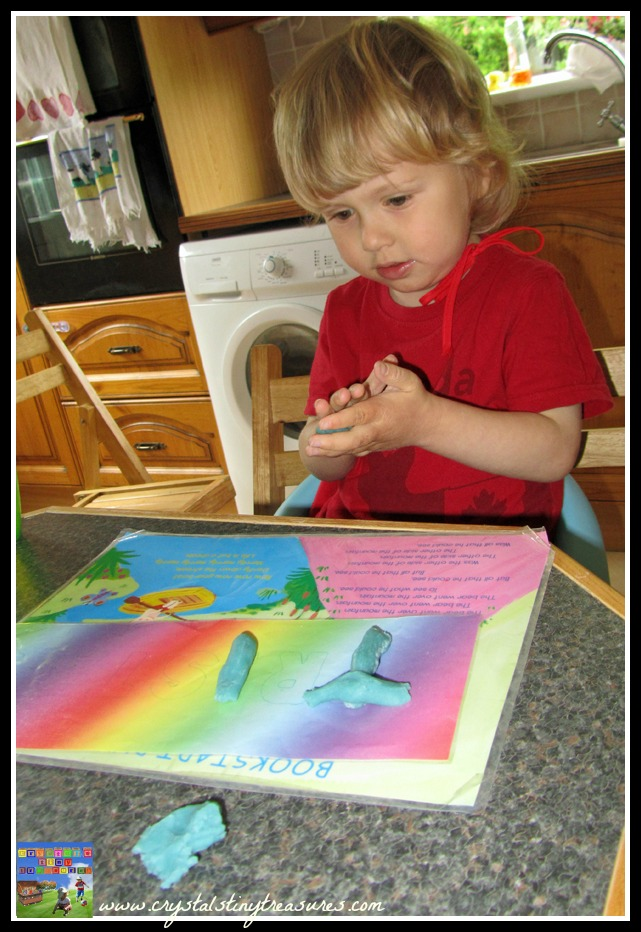 learning your alphabet, learning to spell your name, educational uses for playdough, How to sneak in learning, preschool fun, photo