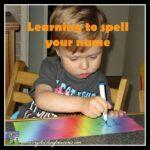 Fun Ways To Learn To Print Your Name