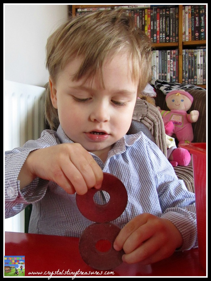 number and letter recognition, Playing with blocks, Learning to spell your name, photo