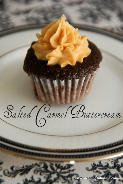 Salted carmel buttercream recipe