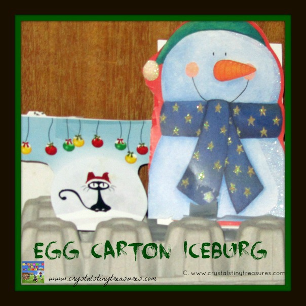 ICEBERG AHEAD!  EGG CARTON CRAFTING