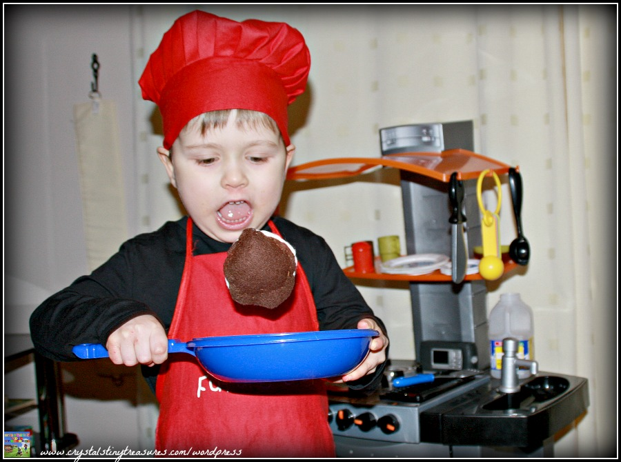 motor skills practice for kids, fun games for kids, Shrove Tuesday fun for kids, photo